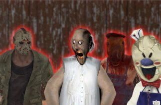 Granny vs Jason vs HeadHorse vs Ice Scream funny animation