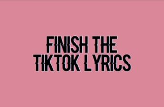 Guess the #Tiktok lyrics Pt. 1