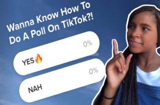 """HOW TO DO """"POLLS"""" ON TIKTOK!🔥"""