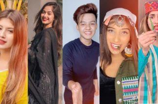 Himachal Wali Song Tiktok Videos | Jannat, Arishfa, lucky, Riyaz, Somya, Avneet and More