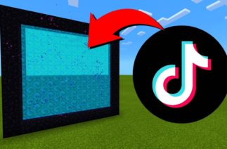 How To Make A Portal To The TikTok Dimension in Minecraft!