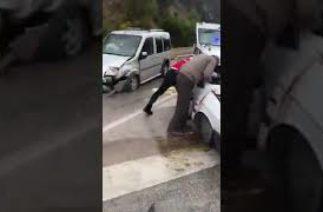 Isparta Antalya yolu trafik kazası