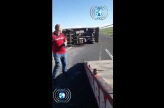 Kars'ta Trafik Kazası, Araç Sürücüsü Hayatını Kaybetti