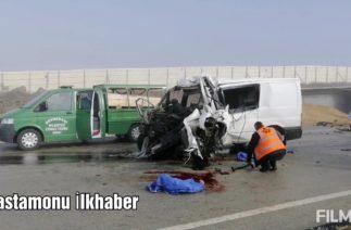 Kastamonu'da Trafik kazası 3 ölü 2 yaralı