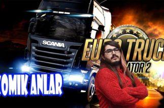 Kendine Müzisyen Euro Truck Simulator 2 Komik Anlar (ETS) (Yayından Kesitler)
