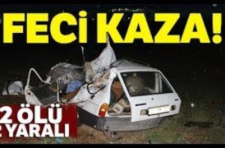 Konya'da Zincirleme Trafik Kazası: 2 Ölü, 2 Yaralı-İha