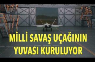Milli Muharip Uçak için yoğun mesai