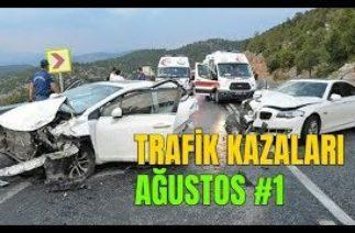 Mobese Trafik Kazaları Görüntüleri (Ağustos 2019) Part 1