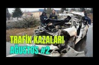Mobese Trafik Kazaları Görüntüleri (Ağustos 2019) Part 2