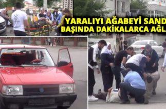 Sivas'ta Trafik Kazası! Yaralıyı Ağabeyi Sandı, Başında Dakikalarca Ağladı