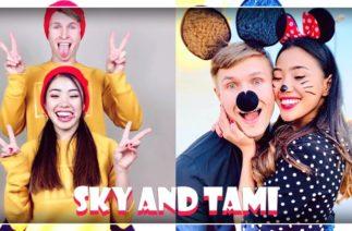 Sky and Tami Best TikTok Compilation 2019
