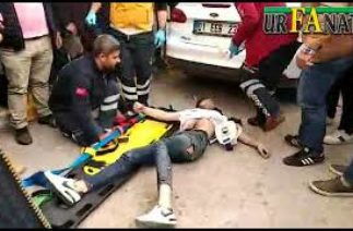 Suruç'ta Trafik Kazası: 1 Ağır Yaralı!