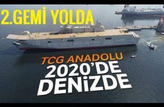 TCG ANADOLU Envantere Giriyor. TCG ANADOLU 2'nin İnşaası Başlayacak !