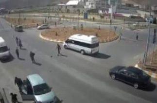 Tatvan'daki Trafik Kazaları Mobese'de