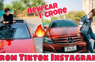 Tiktok Star Riyaz Aly Buy New Mercedes Benz Worth Rs. 1 Crore | 1 crore from Tiktok Instagram