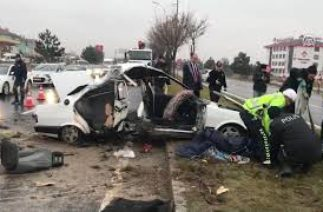 Trafik kazasında acı tesadüf – KÜTAHYA