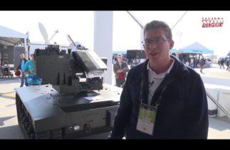 Türkiye'nin insansız mini tankı UKAP