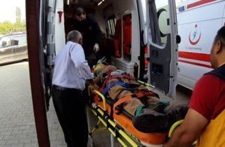 Tufanbeyli de Trafik Kazası 2 si ağır 4 kişi yaralandı.