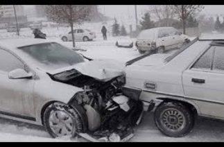 karda trafik kazaları kış sezonu 2020
