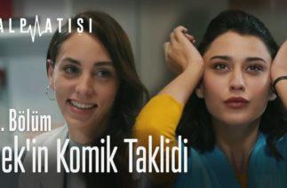 İpek'in komik taklidi – Kalp Atışı 21. Bölüm