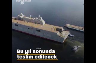 İsrail'in gözü, Türkiye'nin en büyük savaş gemisinin üzerinde