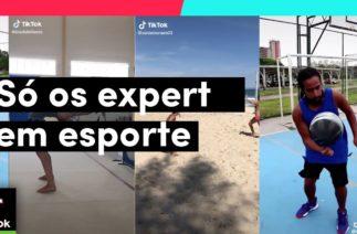 Aqui se encontra os que MANDAM BEM no ESPORTE! | TikTok Brasil