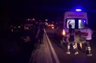 Atça'da trafik kazası 1 ölü
