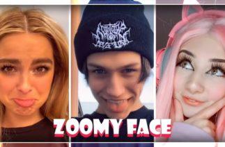 BAGAIKAN LANGIT Zoomy Face Challenge TikTok Compilation 2020