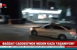 Bağdat Caddesi'nde, Yeni Bir Trafik Kazası Daha Yaşandı