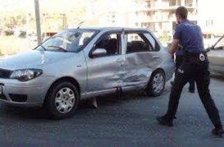Bayburt'ta Köprülü Kavşakta Trafik Kazası – 04/09/2019