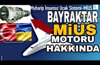 Bayraktar MiUS Projesine (İnsansız Savaş Uçağı İlk Etap) Turbofan Motor (ortak Üretim)