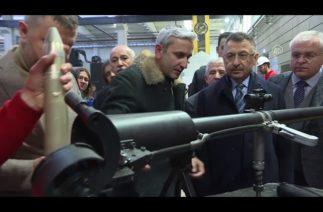 Cumhurbaşkanı Yardımcısı Oktay, savunma sanayii firmalarını ziyaret etti