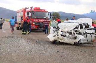 Denizli'de Katliam Gibi Trafik Kazası: 3 Ölü