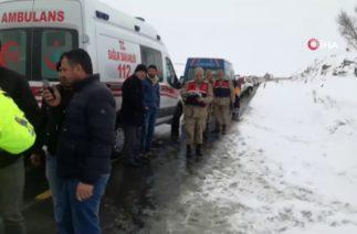 Erzurum'daki Halk Otobüsü Kazasında Ölü Sayısı 2'ye Yükseldi