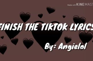 Finish the TikTok lyrics Part 1