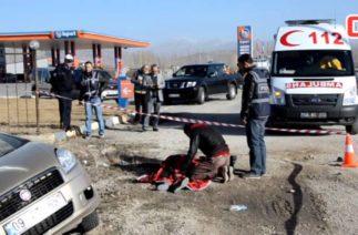 Göksun'da Trafik Kazası 1 Ölü