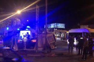 Karaman'da geceyarısı trafik kazası