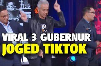 Kocaknya, Tiga Gubernur Berjoget TikTok Langsung Jadi Trending