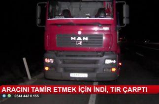 Konya'da trafik kazası! Ölümle burun buruna geldi