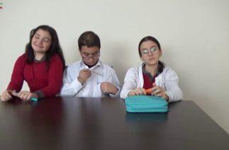 Kopyacilar Krali!!! (Kimse benden daha iyi kopya çekemez!) Komik okul-öğrenci skeci