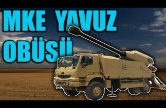 MKE 155 MM KAMYONA MONTELİ YAVUZ OBÜSÜ . T-155 ÇEKİLİ OBÜS