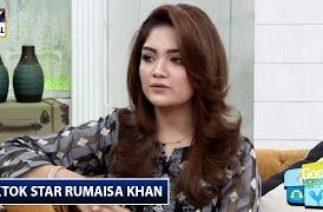 Miliye Aaj Ke Show Main TikTok Star Rumaisa Khan Se