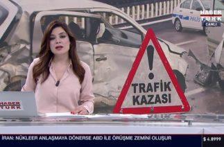 Samsun'da TOFAŞ Araç 2 ye Bölündü (Feci Trafik Kazası)