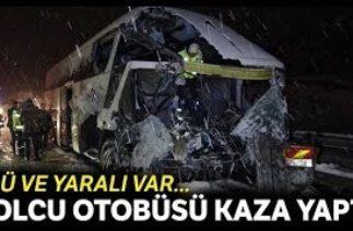 Samsun'da trafik kazası, yolcu otobüsü kamyonla çarpıştı: 1 ölü, 1 yaralı