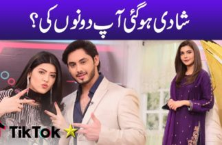 Shadi Hogayi Aap Dono Ki? Tiktok Star | Aiman Zaman | Mujtaba Lakhani