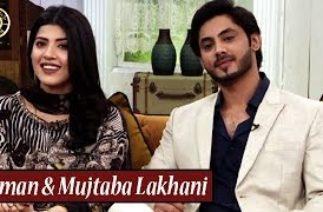 TikTok Star Mujtaba Lakhani & Aiman Zaman is in Good Morning Pakistan | Nida Yasir