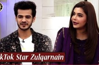 TikTok Star Zulqarnain is in Good Morning Pakistan | Nida Yasir