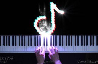 Top 5 TikTok songs on piano