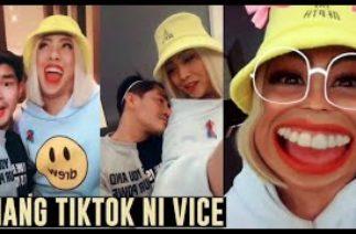 VICE Ganda ION Perez FIRST EVER TIKTOK VIDEOS! NAKAKA-KILIG!
