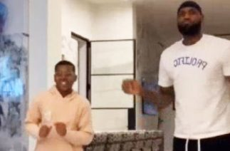 WATCH LeBron James Show Off His Dance Moves on TikTok With Son Bryce